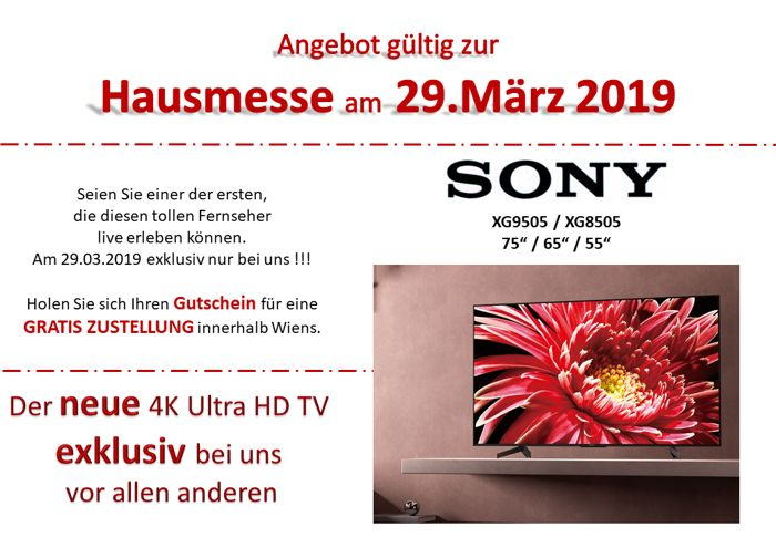 Sony Hausmesse