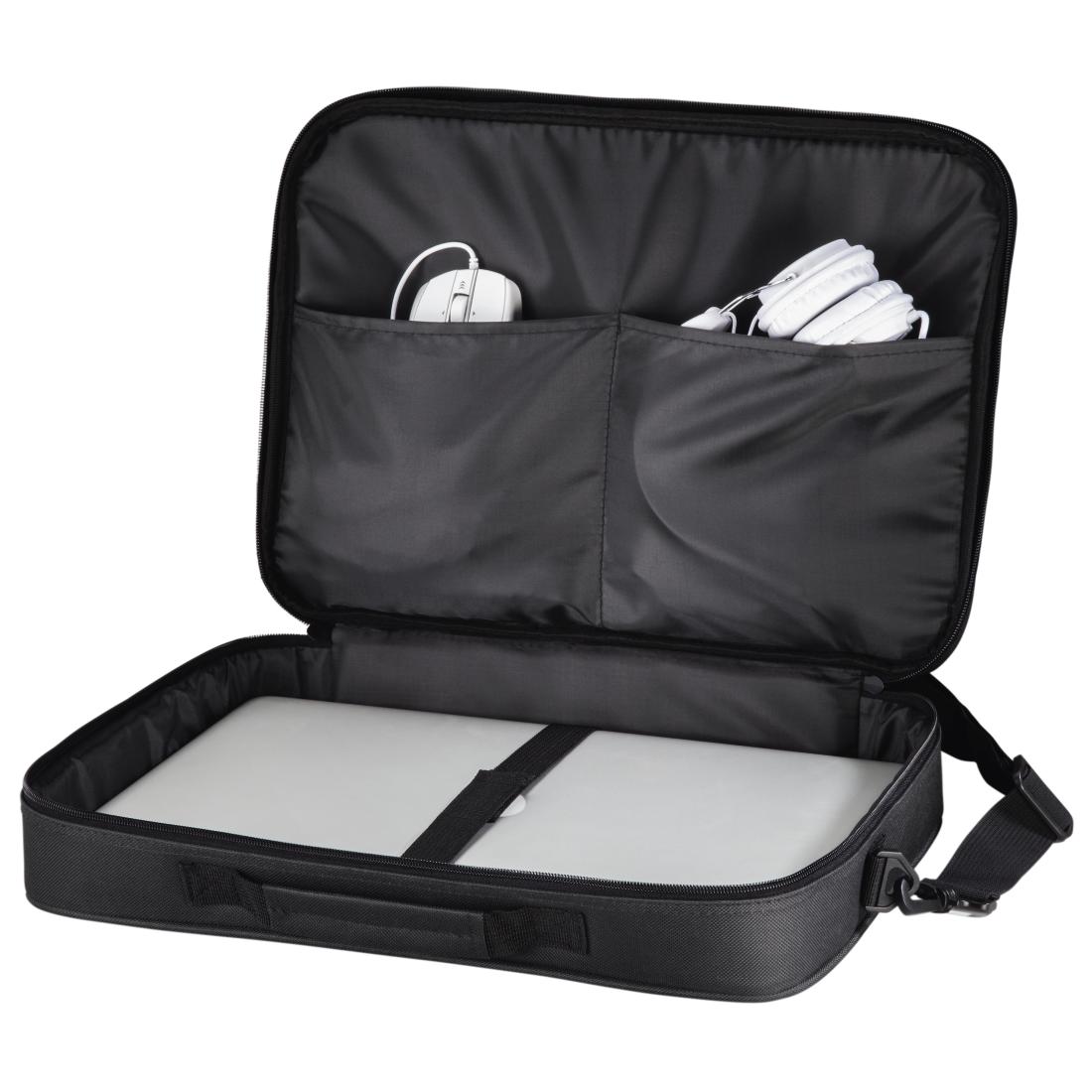 """HAMA Notebook-Tasche """"Montego"""", bis 44 cm (17,3""""), Schwarz"""