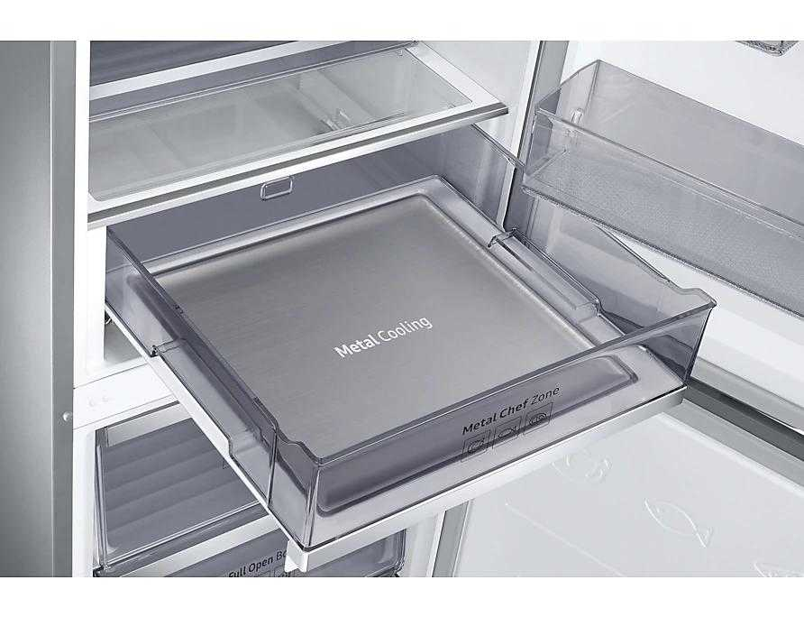 SAMSUNG RB36R8899SR/EF | KitchenFit Kühl-Gefrierkombination D | 201,7cm 368l