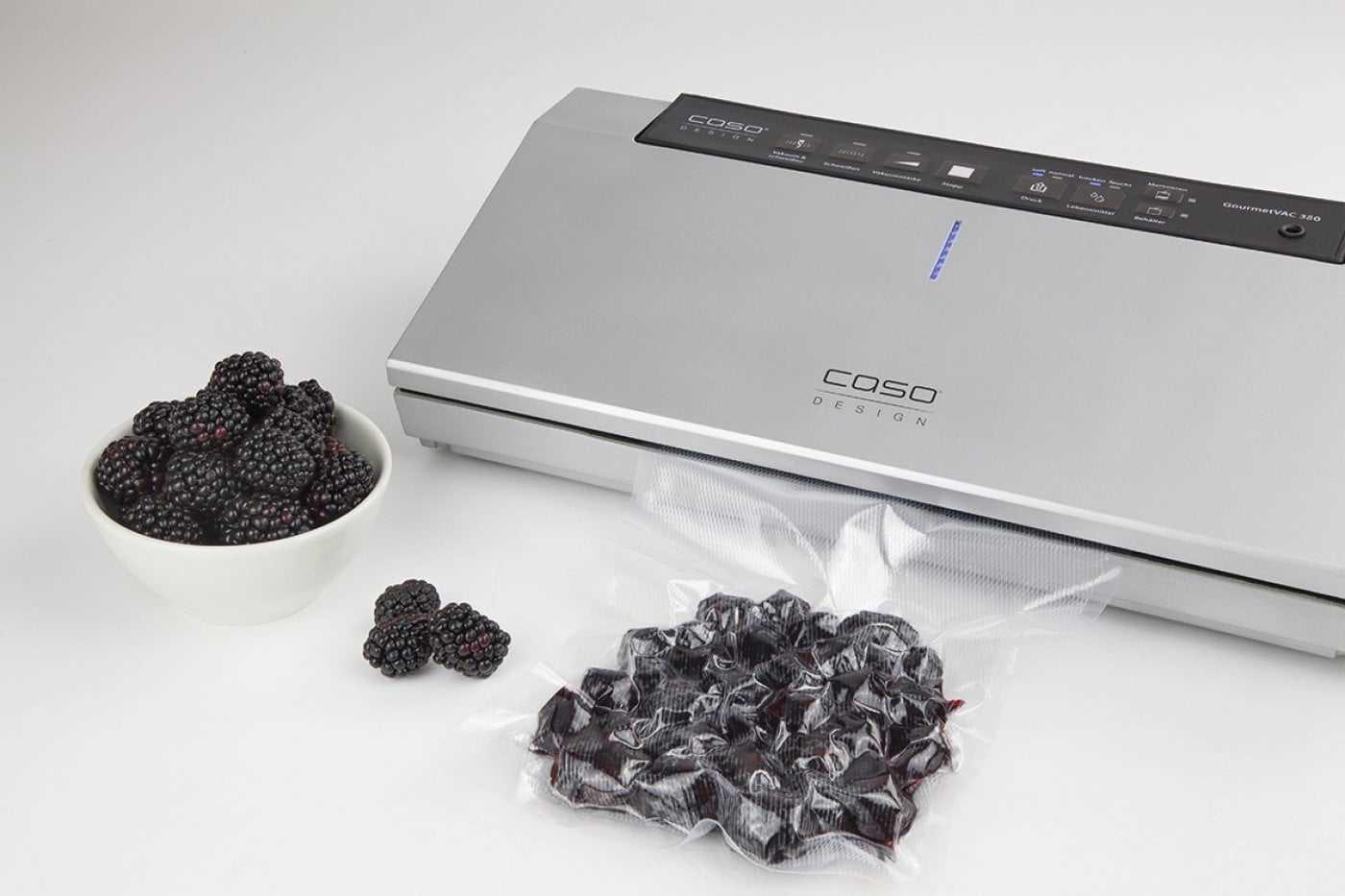 CASO GourmetVAC 380 | vollautomatisches Vakuumiersystem zum Vakuumieren Ihrer Lebensmittel