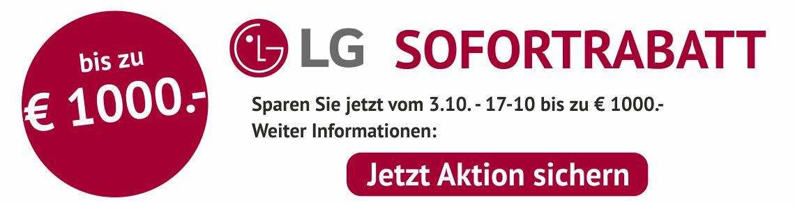LG Aktion Sofortrabatt