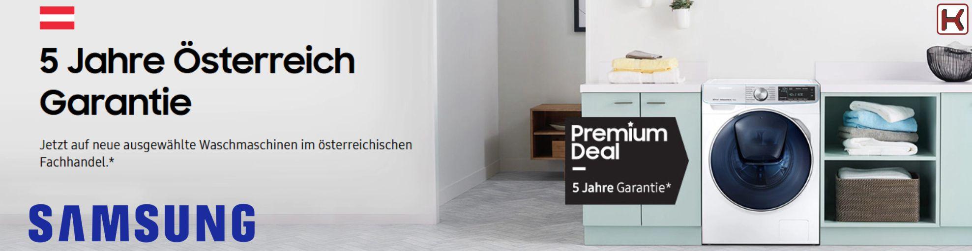 Samsung 5 Jahre Österreich Garantie