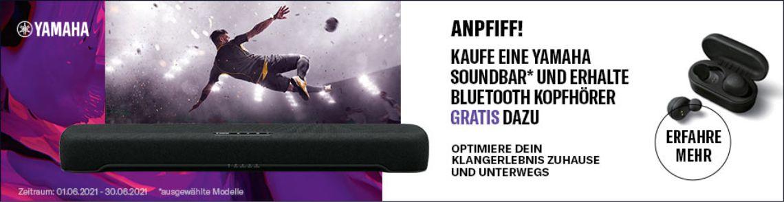 Yamaha Bluetooth Kopfhörer geschenkt!