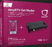 SIMPLI-TV  Set Modul + Antenne