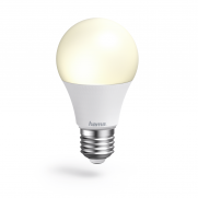 HAMA 176550 WiFi-LED-Lampe, E27, 10W, Weiß, dimmbar