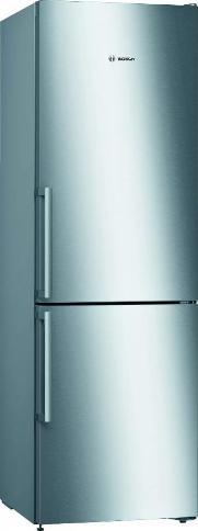 BOSCH KGV36ELEP   Exclusiv    Serie   4 Freistehende Kühl-Gefrier-Kombination mit Gefrierbereich unten 186 x 60 cm Edelstahl-Optik