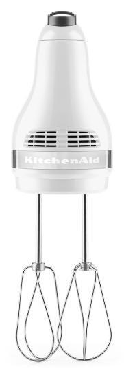 KITCHENAID 5KHM5110EWH weiß| Handmixer 5 Geschwindigkeiten