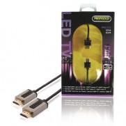 PROFIGOLD High Speed HDMI Kabel mit Ethernet HDMI Anschluss - HDMI Anschluss 2.00 m Schwarz