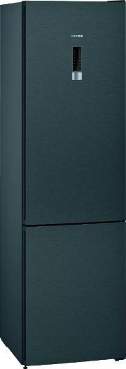 SIEMENS KG39NEXEA | extraKlasse | iQ300 Freistehende Kühl-Gefrier-Kombination mit Gefrierbereich unten 203 x 60 cm blackSteel