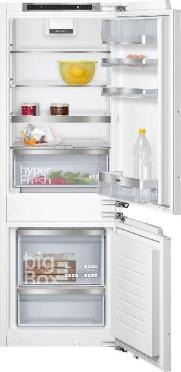 SIEMENS KI77SADD0 | iQ500 Einbau-Kühl-Gefrier-Kombination mit Gefrierbereich unten 157.8 x 55.8 cm
