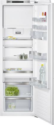SIEMENS KI82LAD40 | iQ500 Einbau-Kühlschrank mit Gefrierfach Flachscharnier-Technik, softEinzug mit Türdämpfung 177.5 x 56 cm | A+++