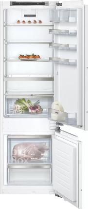 SIEMENS KI87SADD0   iQ500 Einbau-Kühl-Gefrier-Kombination mit Gefrierbereich unten 177.2 x 55.8 cm
