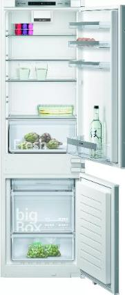 SIEMENS KI86NVSF0   iQ300 Einbau-Kühl-Gefrier-Kombination mit Gefrierbereich unten 177.2 x 54.1 cm