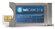 WISI WICAM 316 CI+ Modul mit integrierter Smart-Card