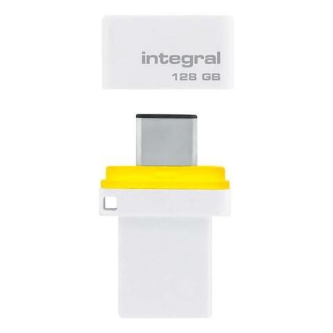 INTEGRAL Speicherstick 128 GB | INFD128GBFUSDUAL3.0C