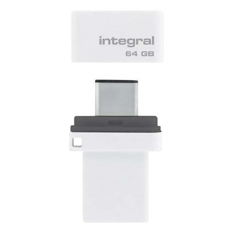 INTEGRAL Speicherstick 64 GB   INFD64GBFUSDUAL3.0C