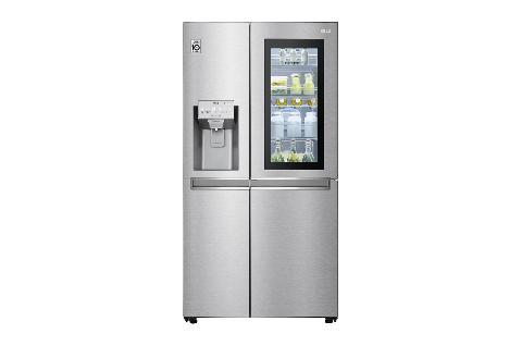 LG GSX960NECE | Side-by-Side mit InstaView Door-in-Door™ | 625 Liter Kapazität | Eis-, CrushedIce-und Wasserspender | Festwasseranschluss | Total No Frost | DoorCooling+™ |ThinQ®