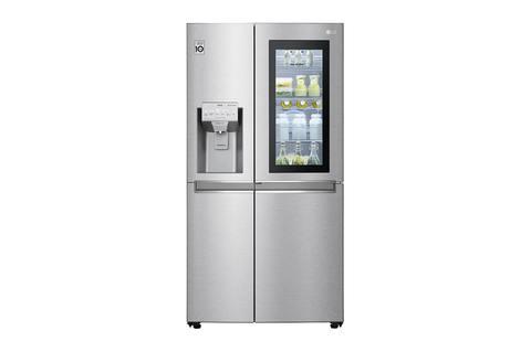 LG GSX971NEAE   Side-by-Side mit InstaView Door-in-Door™   625 Liter Kapazität   Eis-, Crushed Ice-und Wasserspender   kein Festwasseranschluss   Total No Frost