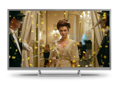 PANASONIC TX-32FSW504S | LED TV - 32 Zoll in silber, DVB-T2 HD