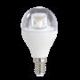 XAVAX 112525 E14, 470lm ersetzt 40W, Tropfenlampe, Warmweiß