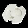 HAMA 137210 Kinderschutzeinsätze für Schutzkontaktsteckdosen, 5 Stück