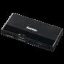 HAMA 124185 USB-3.0-UHS-II-Multi-Kartenleser, SD/microSD/CF, Schwarz