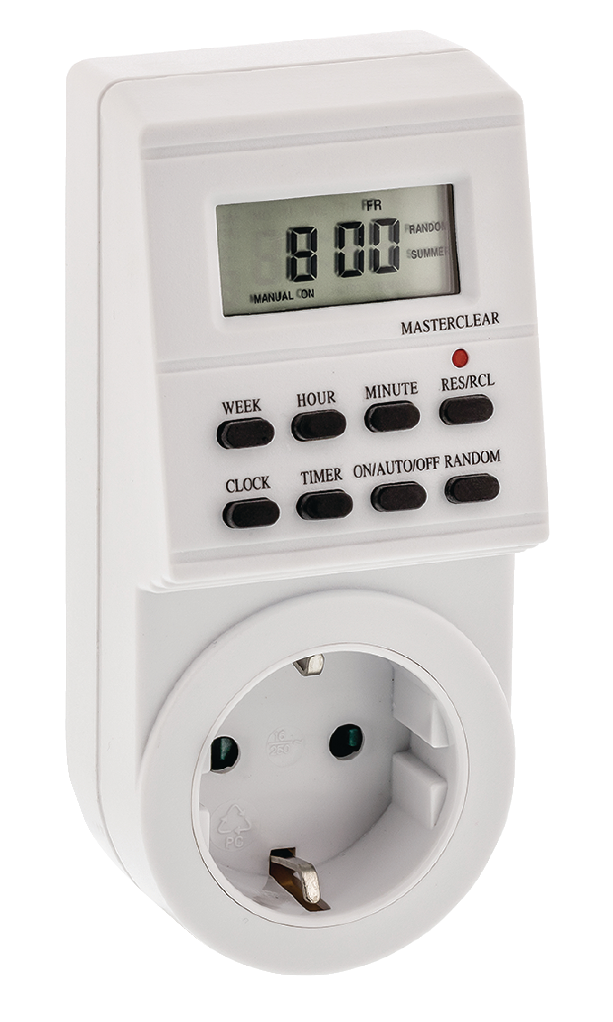 VALUELINE VLTIMER02 Zeitschaltuhr Digtal Innenbereich 1 min. 3600 W
